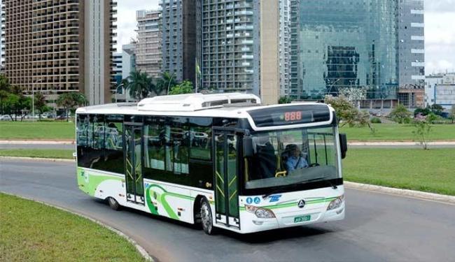 Ônibus elétrico já foi testado em Brasília - Foto: Divulgação