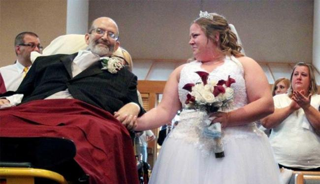 Scott Nagy conseguiu cumprir a promessa feita para filha Sarah - Foto: Agência AP