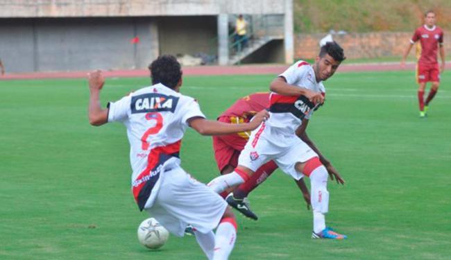 Competição serve para dar ritmo aos jogadores que não estão sendo usados no time principal - Foto: Site Oficial E.C. Vitória | Divulgação
