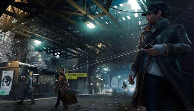 Personagem principal do game é um hacker que pode comandar diversos aparelhos eletrônicos - Foto: Divulgação