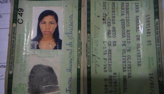 Mulher assassinada era mãe de cinco filhos - Foto: Ascom   Policia Civil