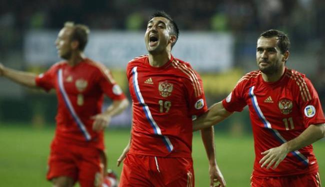 Rússia voltará a disputar uma Copa do Mundo depois de 12 anos e chega ao seu décimo Mundial - Foto: David Mdzinarishvili / Agência Reuters