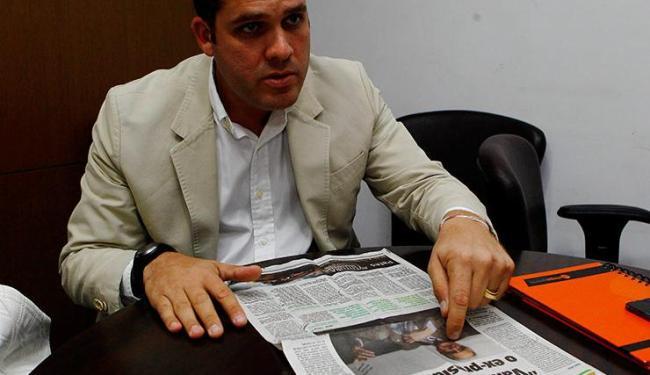 Marcelo Guimarães Filho esteve em A TARDE para rebater entrevista de Fernando Schmidt - Foto: Eduardo Martins | Ag. A Tarde