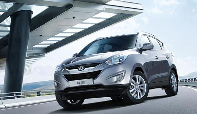 Modelo Hyundai ix35 - Foto: Divulgação