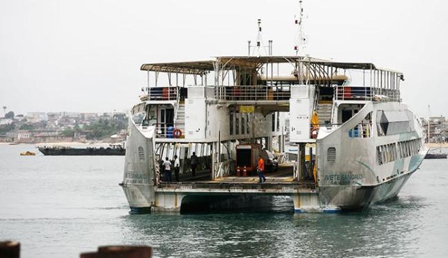 Idoso estava no ferry Ivete Sangalo quando teve o mal súbito - Foto: Raul Spinassé/ Ag. A TARDE