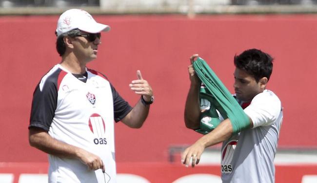Atacante Maxi Biancucchi já participa dos treinos - Foto: Eduardo Martins | Ag. A TARDE