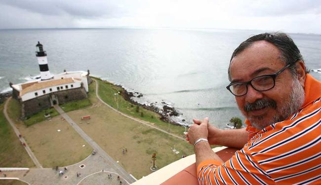 Fundador do SOS Barra, Sérgio Bezerra, é um entusiasta da revitalização - Foto: Fernando Amorim   Ag. A TARDE