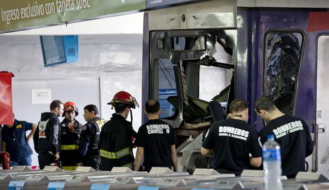 Esse é o quarto grande acidente de trem ocorrido na Argentina em menos de dois anos - Foto: Natacha Pisarenko | AP Photo