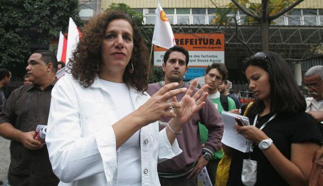 Deputada Jandira Feghali, do PC do B do Rio - Foto: Carlos Moraes | Ag. O Dia | Arquivo Ag. A TARDE