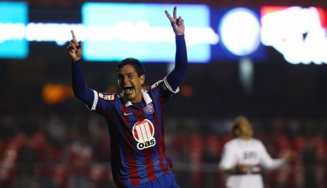 No primeiro turno, Bahia venceu paulistas por 2 a 1 em casa - Foto: Marcos Bezerra | Futura Press | Arquivo Ag. A TARDE