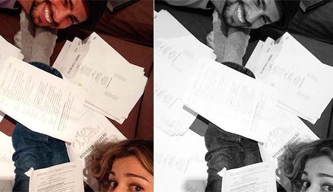 Essa foto, que tinha sido divulgada em junho, foi uma das apagadas pela atriz - Foto: Instagram | Reprodução