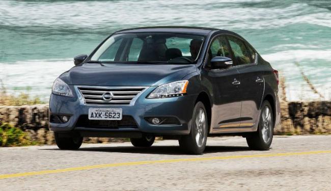 Nissan Sentra mudou o visual e cresceu internamente - Foto: Divulgação