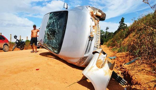 Veículo tinha sido tomado de assalto em Porto Seguro - Foto: Gustavo Moreira/RADAR 64