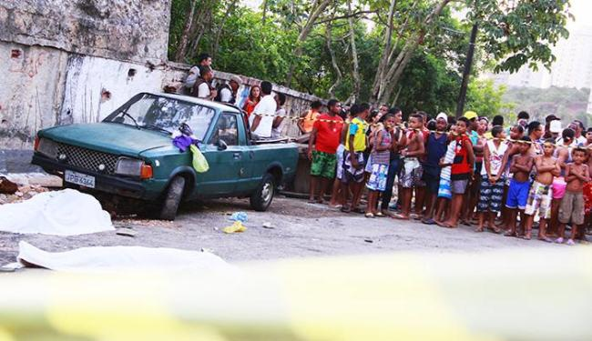 Crime aconteceu na Rua Alameda Praia do Descobrimento - Foto: Joá Souza/ AG. A TARDE