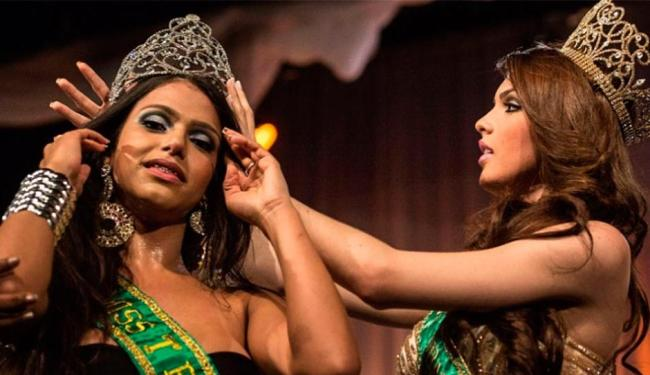 Raika Ferraz foi coroada na madrugada desta terça-feira, no Rio de Janeiro - Foto: Agência AFP