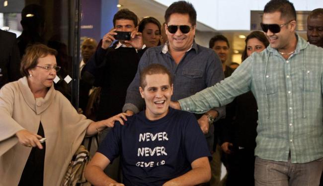 Cantor ficou 81 dias no hospital e saiu em julho de 2012 - Foto: Wagner Campos | Futurapress | Ag. A TARDE