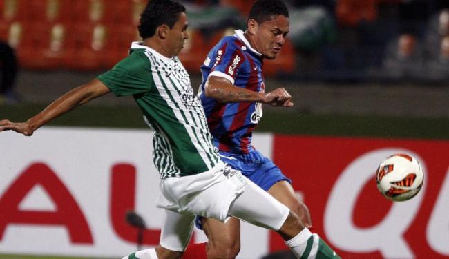 Bahia precisa bater time colombiano por dois gols ou mais de diferença para avançar na competição - Foto: Alberto Lopera | Ag. Reuters