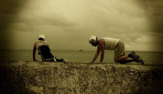 Atores encenam em um dos lugares mais bonitos de Salvador - Foto: Vincent Boujon   Divulgação