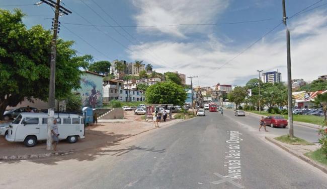 O tiroteio ocorreu próximo à Cesta do Povo, no Ogunjá - Foto: Reprodução | Google Earth