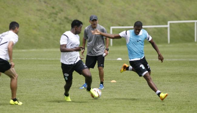 Time colombiano treinou na Toca do Leão e já está definido para pegar o Bahia - Foto: Marco Aurélio Martins | Ag. A TARDE
