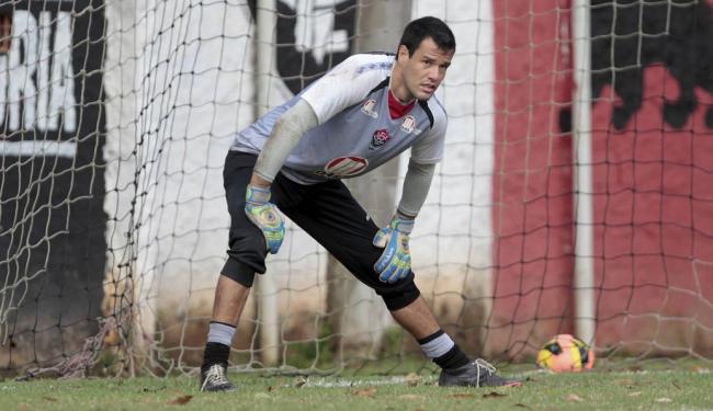 Arqueiro rubro-negro foi titular em todas as partidas do Vitória no Campeonato Brasileiro até então - Foto: Eduardo Martins   Ag. A TARDE