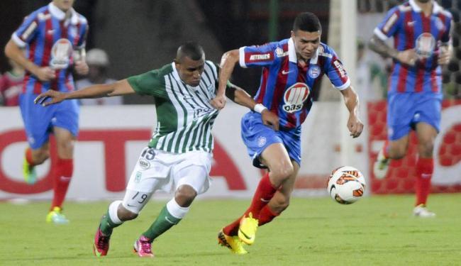 Poupado, Marquinhos Gabriel será um dos atletas que não encaram o Nacional na partida desta quinta - Foto: Luis Benavides   Ag. A TARDE