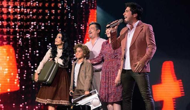 Daniel apresenta o show como um musical, com atores passando momentos da vida dele - Foto: Marcos Hermes | Divulgação