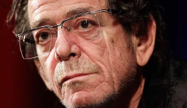 Lou Reed era uma das lendas do rock - Foto: Agência Reuters