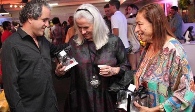 Vera Holtez ao lado da promoter Licia Fabio em evento em Salvador - Foto: Uran Rodrigues | Divulgação