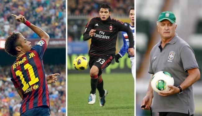 Neymar, Thiago Silva e Felipão na disputa - Foto: Fotos: Ag. Reuters, AP Photo e Raul Spinassé | Ag. A TARDE