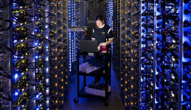 NSA teria coletado dados dos servidores do Google via fibra ótica - Foto: Divulgação   Google