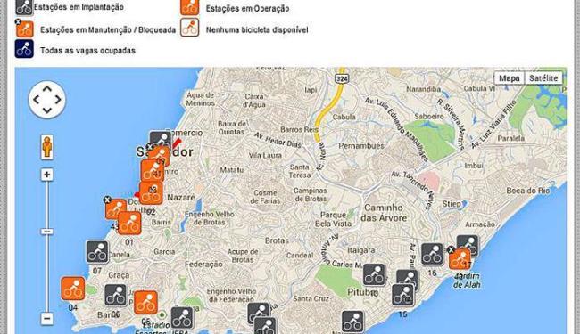 Clicofaixa na cidade baixa será inaugurada neste sábado, 2 - Foto: Reprodução | Salvador Vai de Bike