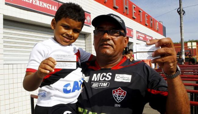 Joselito Vianny com seu neto Gabriel Vianny - Foto: Eduardo Martins | Ag. A TARDE