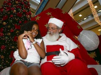 Papai Noel deve ter barba natural e gostar de criança - Foto: Fernando Amorim | Ag. A TARDE
