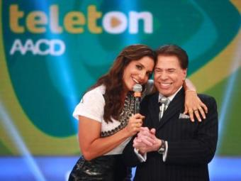 Silvio ficou encantado por Ivete Sangalo - Foto: Divulgação