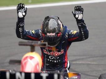 A vitória deste domingo foi a décima de Vettel na atual temporada - Foto: Agência Reuters