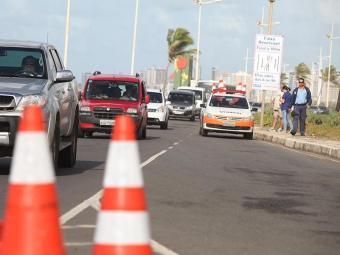Operação da Faixa Solidária foi suspensa na última terça, 29 - Foto: Edilson Lima   Ag. A TARDE