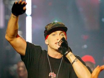 Eminem ganhou o prêmio de Melhor Artista do Ano - Foto: REUTERS/Alessia Pierdomenico