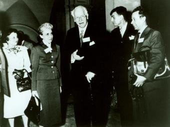 Museu de Imagens do Inconsciente Na foto: Nise da Silveira e C. G. Jung - Foto: Divulgação