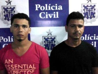 Os irmãos Isac e Adalberto de Matos da Silva, de 25 e 26 anos de idade. - Foto: Divulgação/ Polícia Civil