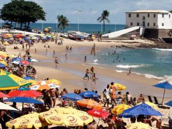 Porto da Barra está entre as 20 praias impróprias para banho - Foto: Lúcio Tavora | Ag. A TARDE