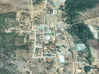 Município fica no sudoeste baiano, próximo a Caculé - Foto: Reprodução   Google Earth
