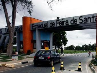 Segundo a Uefs, troca de tiros aconteceu numa área remota do campus - Foto: Luiz Tito/Ag. A Tarde