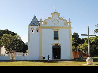 A Igreja de Nossa Senhora da Penha passou por intervenções da fachada ao interior - Foto: Divulgação | Iphan