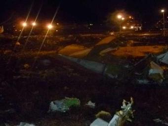 A aeronave caiu às 19h25 locais quando tentava aterrissar em Kazan - Foto: Agência Reuters