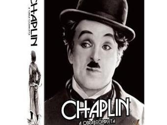 Box de DVDs Chapin - A Obra completa - Foto: Divulgação