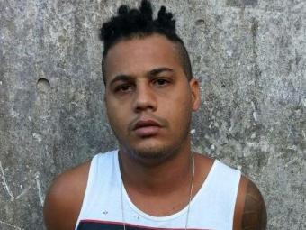 Leonardo foi preso no Candeal de Brotas, em Salvador - Foto: Ascom | Polícia Civil