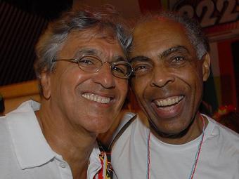 Gilberto Gil e Caetano Veloso em bate-papo descontraído - Foto: Débora Paes   Divulgação