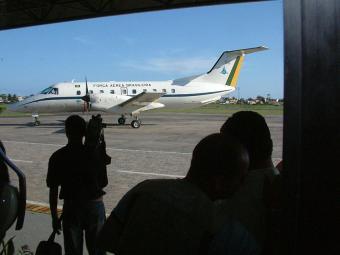 Serviço de bordo dos aviões da FAB conta com cardápio exótico - Foto: Zeka | Arquivo | Ag. A TARDE