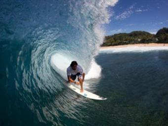 Marco Fernandez vai encarar a difícil onda de Sunset - Foto: Divulgação
